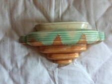 "Iconic Vintage Crown Devon A66 Art Deco Wall Pocket Maybe ""Present Grade"""