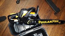 NEW Poulan Pro® Chainsaw 20 Inch Bar 50cc Gas Powered 2 Cycle Chain Saw PR5020
