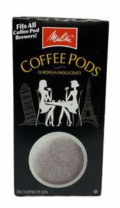 Melitta Coffee Pods, Hazelnut Cream, 18 Pods/Box, 75410