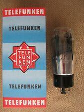 AZ12  TELEFUNKEN  rectifier tube -  BLACK MESH  -  NOS  -  AZ 12  ( RGN2504 )
