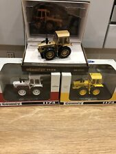 Set Of 3 Universal Hobbies County 1174 tractors GOLD White Yellow 1:32 Limited