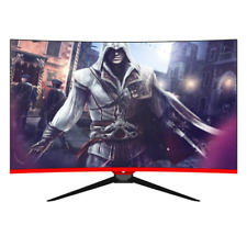 FREE SHIPPING 32 inch Curved Ultra High Res 2560*1440 144Hz gaming monitor