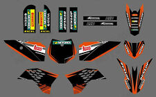 NEW GRAPHICS DECALS FOR KTM SX50 SX 50CC 50 KTM50 2009 2010 2011 2012 2013-2015