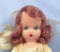 Bridesmaid Nancy Ann Storybook Doll #87 Plastic Frozen Legs Vintage in Box