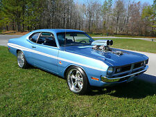 """24"""" x 16"""" Poster Dodge Demon Muscle Classic Hot Rod 340 Engine"""