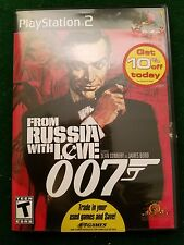 "JAMES BOND ""FROM RUSSIA WITH LOVE"" FOR  PS 2 SEAN CONNERY COMPLETE MINT"