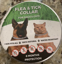 New listing Flea and Tick Collar for Dog Cat Pets Over 8 Month Protection