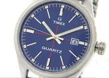NEW Mens Timex Quartz Original T2N404 Watch Stainless Expansion Band$110 Indiglo