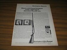 1971 Print Ad Remington Model 870 Wingmaster Left Hand Pump Shotguns Bridgeport