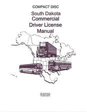 COMMERCIAL DRIVER MANUAL FOR CDL TRAINING (SOUTH DAKOTA) ON CD IN PDF PROGRAM.