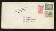 Arabia Saudita BARCA Mail Boxed anni'60 per l' Olanda