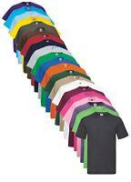 Fruit of the Loom Coton Uni Valueweight Tee T-Shirt Pour 4XL & 5XL XXXXXL