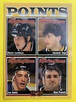 1996-97 Skybox Fleer The Sporting News #137 Mario Lemieux Points Leader