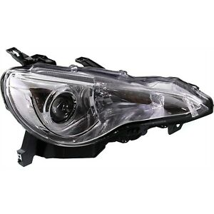 Headlight For 2013 2014 2015 2016 Scion FR-S Right With Bulb and Wiring Harness