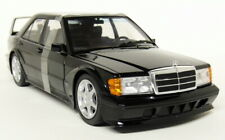 Solido 1/18 Scale - Mercedes Benz 190E Evo 2 Black Diecast model car