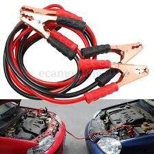 2M 500Amp Car Battery Booster Power Wire Line Emergency Cable Line Cable Clip