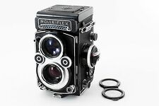 (#3536) Overhauled! Rolleiflex 3.5F White face Late model 12/24type from Tokyo