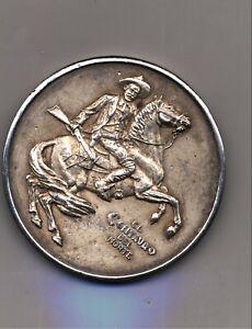 RARE 1877 Republic Of Mexico Silver COIN HORSE RIDER PANCHO VILA Coin $$$ 1923
