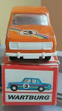 VINTAGE WARTBURG SPORTS TOY CAR  M 1:30 GDR N3 GERMANY VEB PLASTICART ORIG. BOX