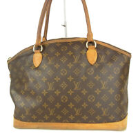 Auth LOUIS VUITTON M40104 Monogram Lockit Horizontal Shoulder Hand Bag 15541bkac
