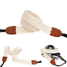 Sun Flower lace style Fashion Camera Neck Shoulder Strap for Film SLR DSLR Cute
