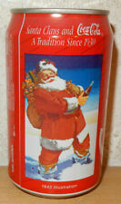 COCA COLA 1991 SANTA CLAUS CHRISTMAS Can from NETHERLANDS (33cl)  never for sale