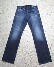 G-Star 3301 Victor Straight Jeans Hose W33 L34 Raw Denim B873