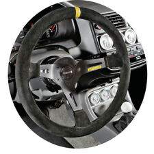MOMO MOD 08 8 Black Suede 350mm Deep Dish Steering Wheel  - R1908/35S