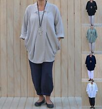 Collared Plus Size Wrap Tops for Women