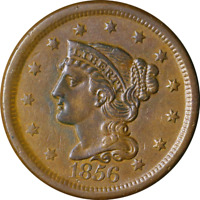 1856 Large Cent Great Deals From The Executive Coin Company