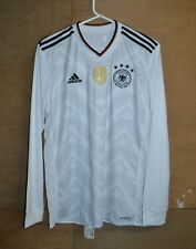 Germany 2014 FIFA World Champions Long Sleeve Football Jersey Size L
