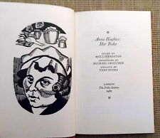 Anne Hughes: Her Boke. Linocuts by Tony Evora Folio Society. Slipcase