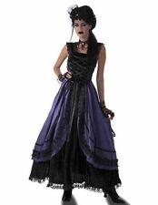 Purple Poison Womens Steampunk Gothic Victorian Costume Dress Size Standard