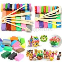 5 Tools+24/32 Colors Polymer Clay Fimo Block Modelling Moulding Sculpey DIY Toys
