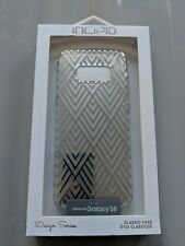 Incipio Design Series Classic Case for Samsung Galaxy S8 - Silver Prism