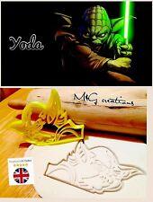 Yoda Star Wars Uk SELLER Biscuit Cookie Cutter Fondant Cake Decorating