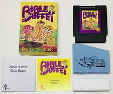 Genuine NTSC Nintendo NES BIBLE BUFFET COMPLETE! AUTHENTIC! FAST SHIP!