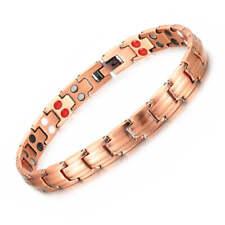 Thin Pure Copper Magnetic Bracelet women Arthritis Pain Relief Balance Energy