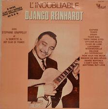 """DJANGO REINHARDT - L`INOUBLIABLE VOGUE CLD 842 12"""" LP (X 118)"""