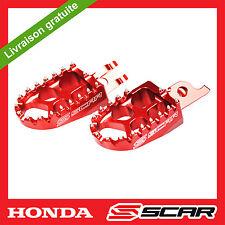 REPOSE CALE PIED EVO HONDA CR 125 CRF 150 250 450 CRF250R CRF450R ROUGE SCAR