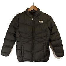 North Face Black Puffer Jacket Coat parka Girls Large L( 14/16) 550 Goose Down