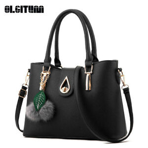 Women Fashion Handbags Leather Shoulder Lady Bags Messenger Big Leisure Handbag