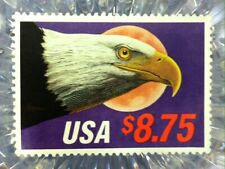 1988 USA #2394 $8.75 Eagle and Moon Plate Single Mint NH VF High Value Stamp #3