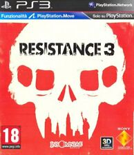 RESISTANCE 3  PS3  usato