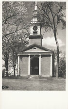 Congregational Church Lebanon Postcard Connecticut Tercentenary Amercian Scene