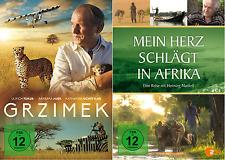 Grzimek + Mein Herz schlägt in Afrika - Teil 1 u. 2 - 2 DVD Pack