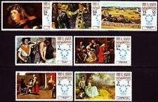 Umm al qiwain 1967 ** mi.218/24 a pinturas pinturas van gogh Zi renoir Degas
