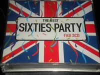 The Best Sixties Party - 3 CD's Album - 2004 - Various Artists - 84 Tracks