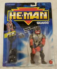 Vintage 1990 He-Man Quakke by Mattel MOC Masters of the Universe MOTU