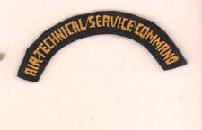Air Technical Service command tab rocker USAF  Patch